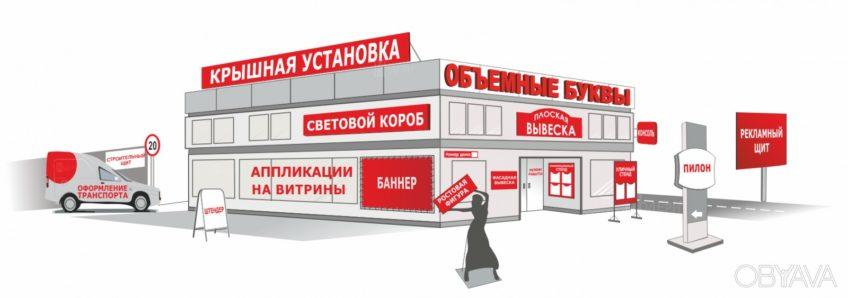 Изготовление наружной рекламы в Кирове