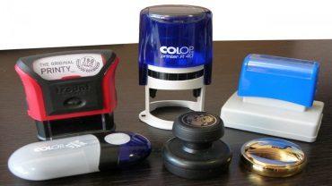 Технология изготовления печатей и штампов