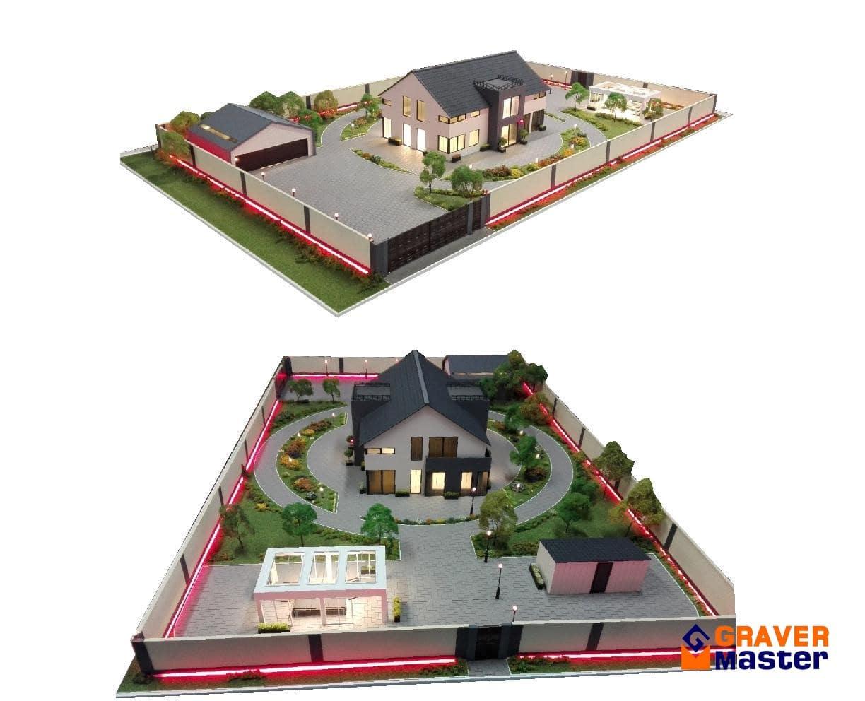 модель дома под заказ