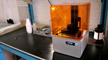 3D печать на фотополимерном принтере